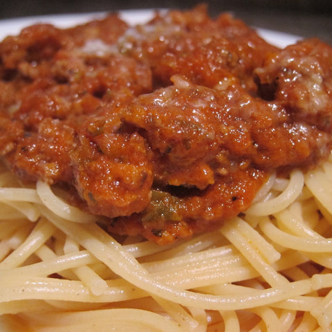 Marinara Meat Sauce (Serves 3-4 adults)