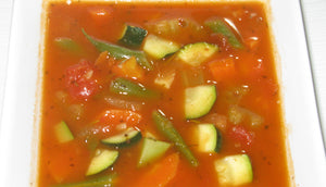 Minestrone Soup with Brown Rice (Serves 2-3 adults)