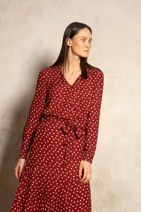 Paris Shirt Polka Dot Print