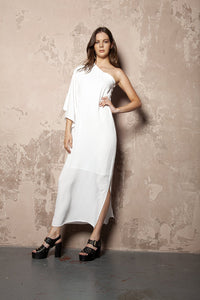 Ginger Dress White