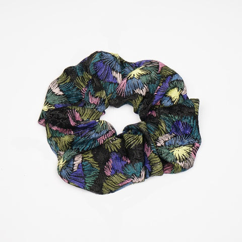 Morning Glory Scrunchie
