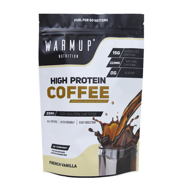 WarmUp High-Protein Coffee (18 servings)