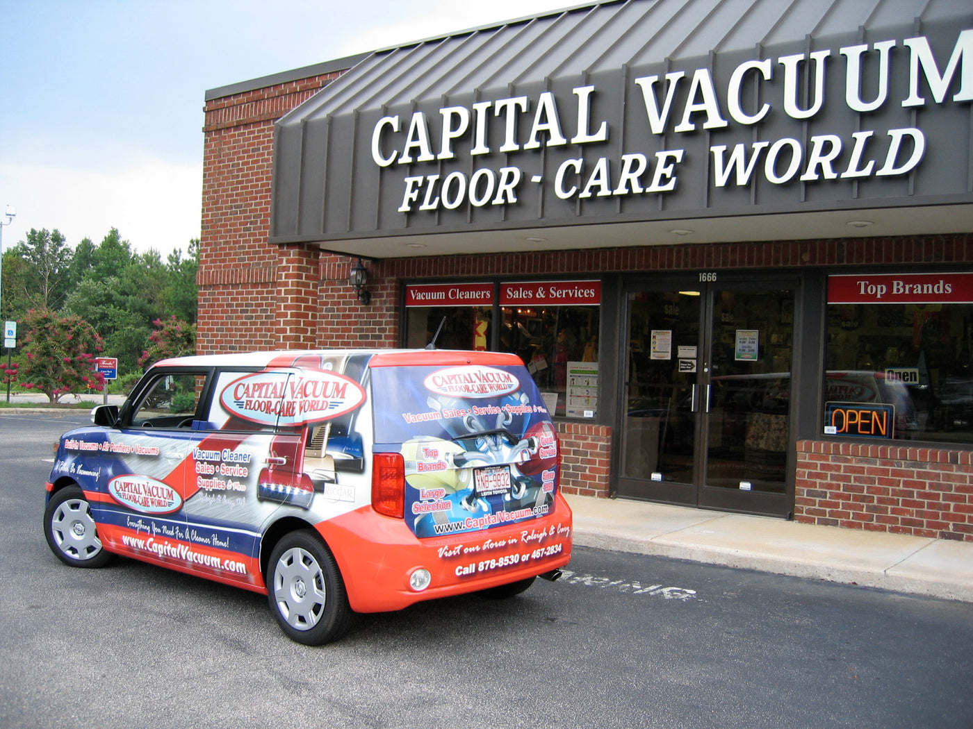 Capital Vacuum Floor-Care World Vacuum Cleaner Stores in Raleigh NC & Cary NC