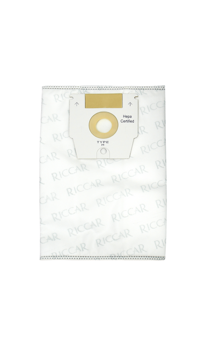 Riccar Vacuum Bags Mid-size & Full-size Canister HEPA Type H - 6 pk HEPA dustbags