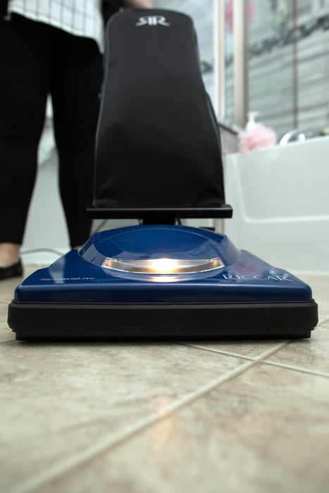 Riccar Supralite R10E Upright Vacuum, weighs just 8 pounds!