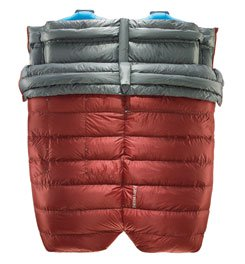 Thermarest Dorado Duo HD 45-Degree Semi Rectangular Down Sleeping Bag