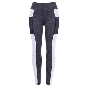 CHRLEISURE Women Fitness Legging High Waist Push Up Women Leggings - MFBO