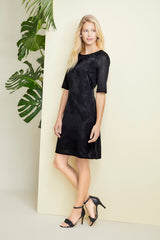 Black Novelty Dress Color Black