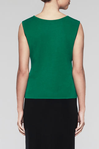 Pine Scoop Neck Tank Color Pine