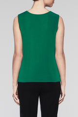 Pine Pullover Scoop Neck Tank Color Pine