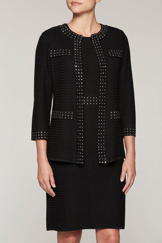 Jewel-Studded Jacket Color Black
