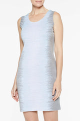 Ombre Dress Color Iceberg Blue/Mercury Grey/White