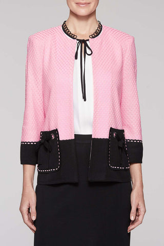 Loop Pocket Jacket Color Bubblegum Pink/Black