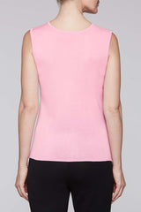 Bubblegum Scoop Neck Tank Color Bubblegum Pink