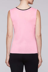 Black Trim Bubblegum Tank Color Bubblegum Pink/Black