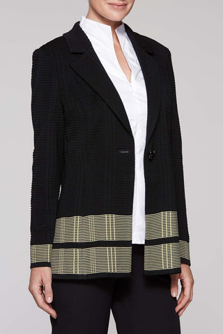 Stripe Border Jacket