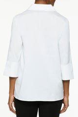 Stretch Cotton Pullover Tunic – Ming Wang