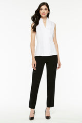 Straight Leg Pant Color Black