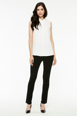 Black Slim Leg Pant Color Black