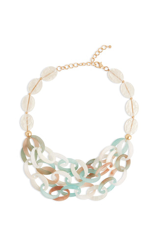 Frosted Resin Necklace – Ming Wang