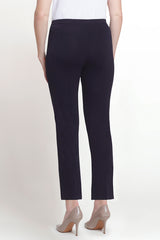 Plus Size Navy Ankle Pant Color Navy