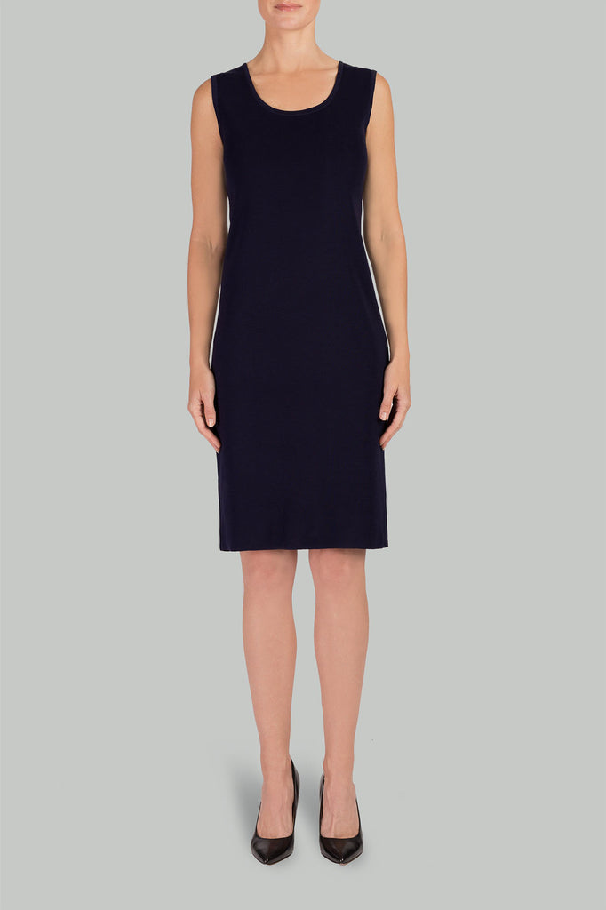 Daria Dress Color Navy