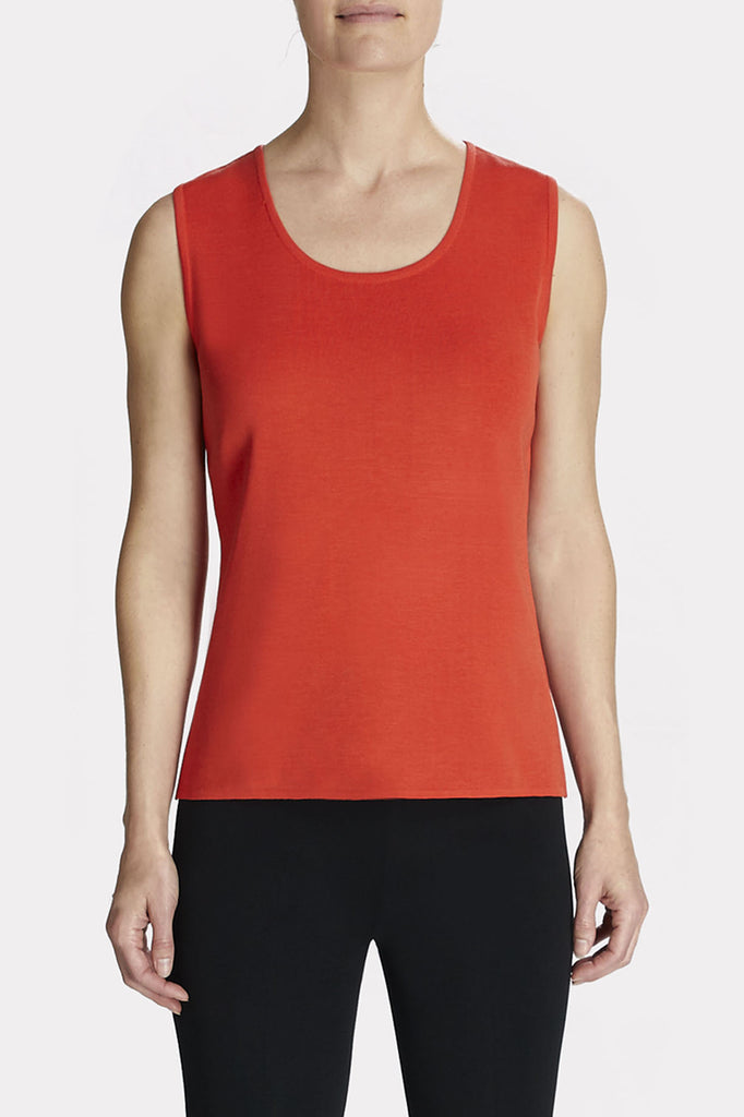 Flame Scoop Neck Tank Color Flame