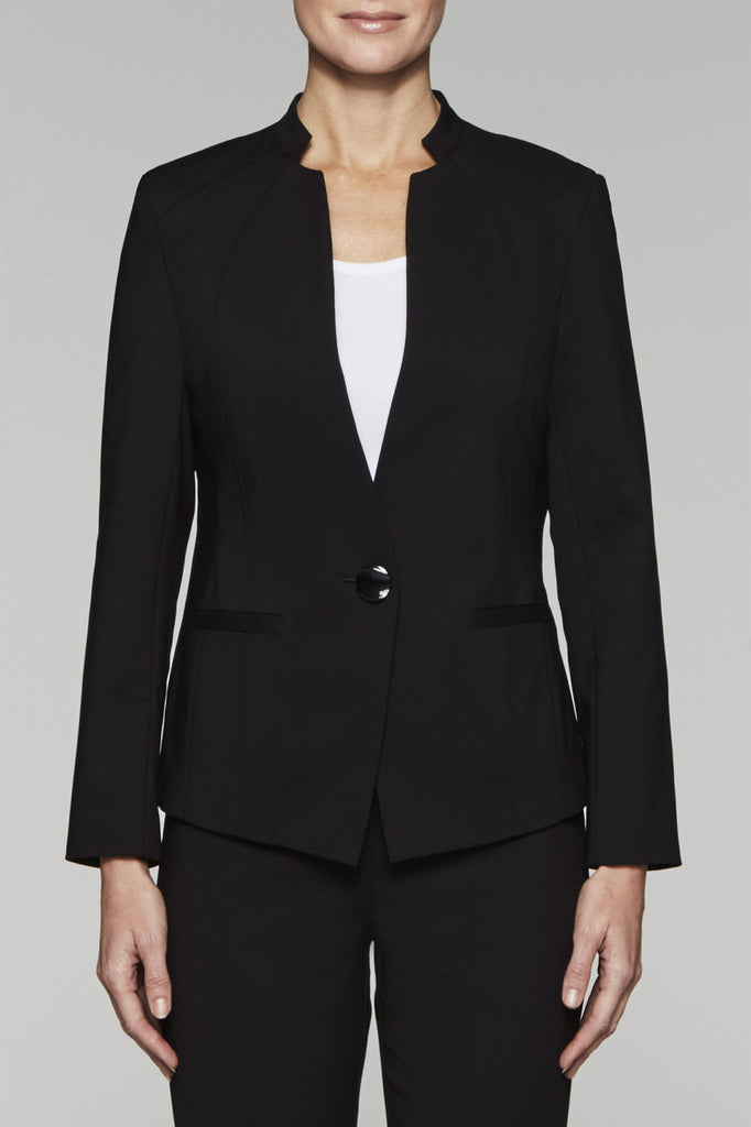 Tailored Techno Jacket Color Black