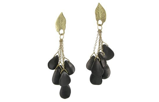 Leaf and Petals Earrings