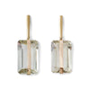 Sasha Earrings -Green Amethyst