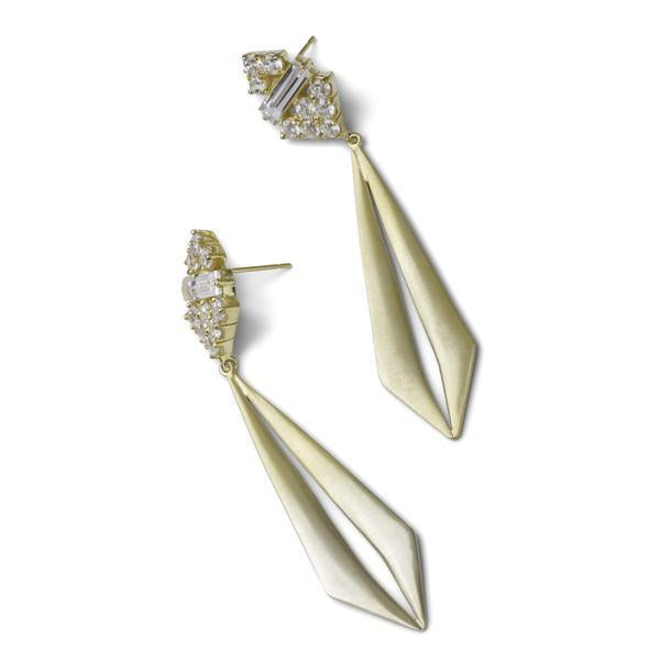Cassandre Earrings - Gold