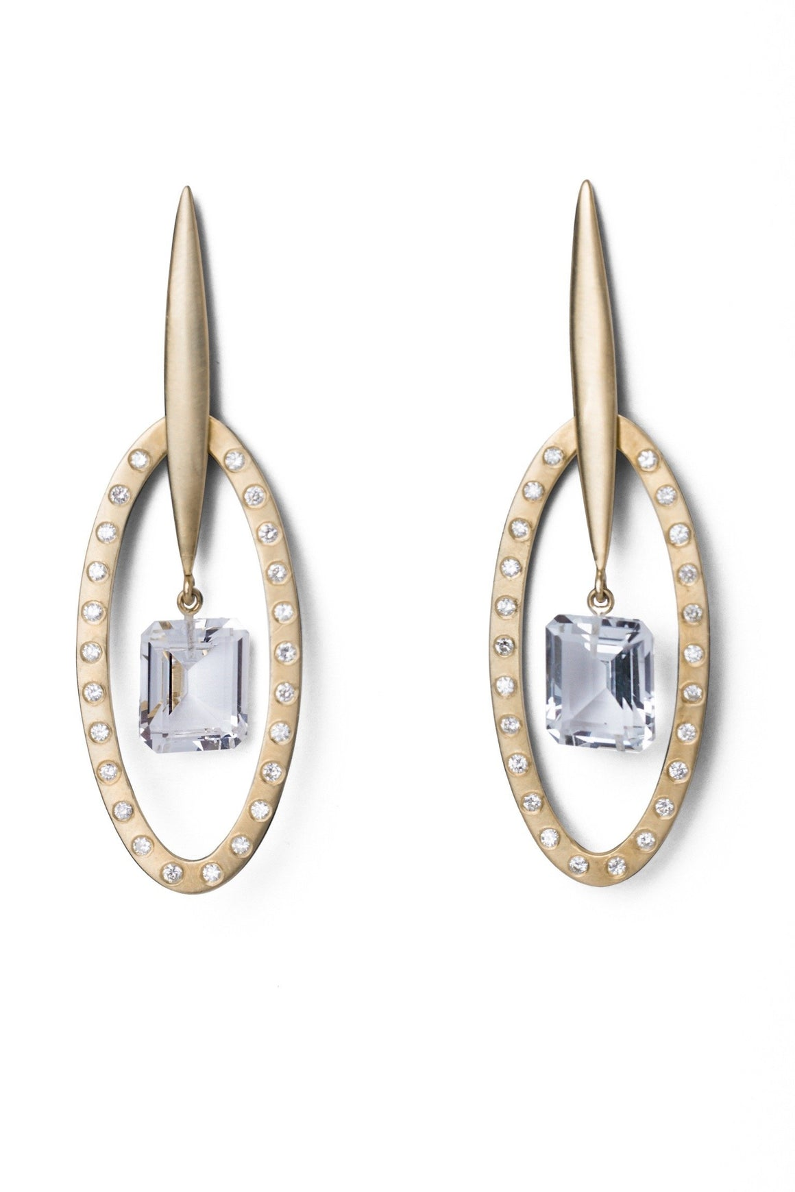 Diamond Together Earrings