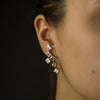 Crosswalk Earrings - White Topaz