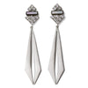 Cassandre Earrings - Silver