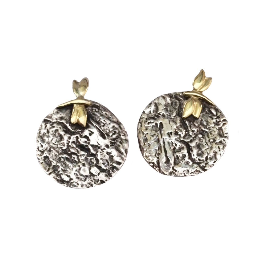 Into the Woods Clip Earrings
