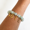 VOTE Jade Stretch Bracelet