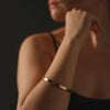 """Power Tools"" Diamond & 18K Rose Gold Vermeil Bangle"