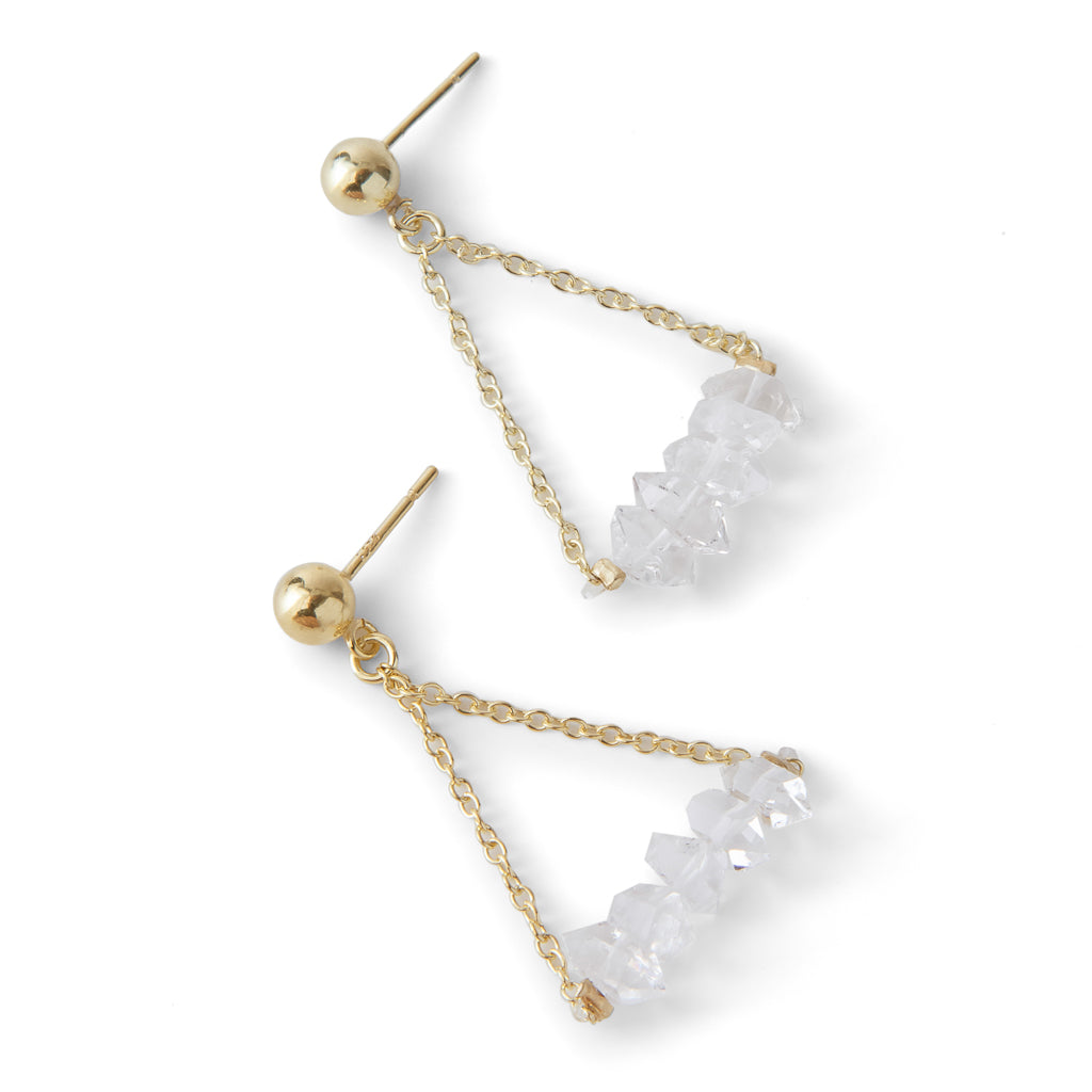 New YorkHer Earrings - Columbus Circle