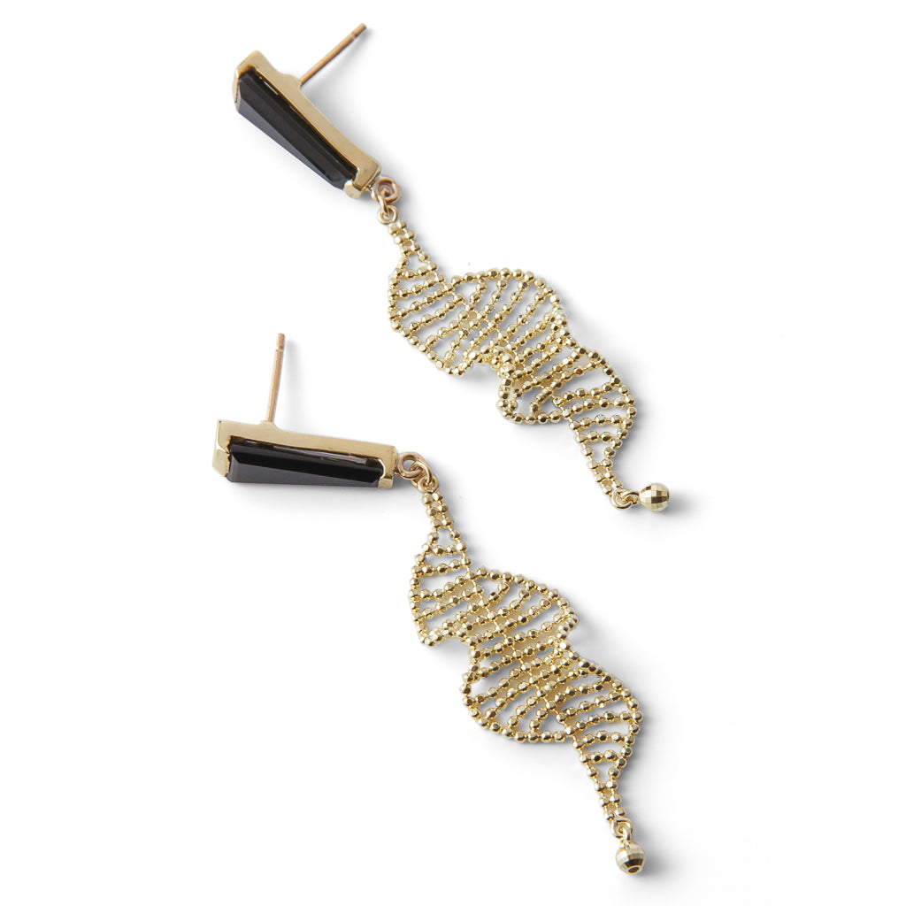 Bertoia Spiral Earrings