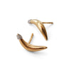 """A-Peel to Equality"" Diamond & 23K Gold Vermeil Stud Earrings"