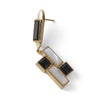 Mondrian Composition No. 10 Earrings
