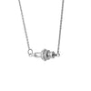 """Ignite Equality"" Diamond & Sterling Silver Necklace on Sterling Silver Chain"