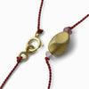 """It All Starts Here"" Pomegranate Seed Necklace"