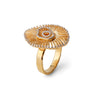 """Make Room for Me"" Diamond & 23K Gold Vermeil Ring"