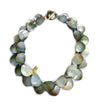 2-Strand Black Mother of Pearl Necklace