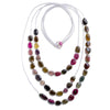 3-Strand Tourmaline Necklace