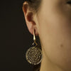 Swinging Pinwheel Earrings