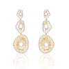 """Make Room for Me"" Diamond & 23K Gold Vermeil Earring"
