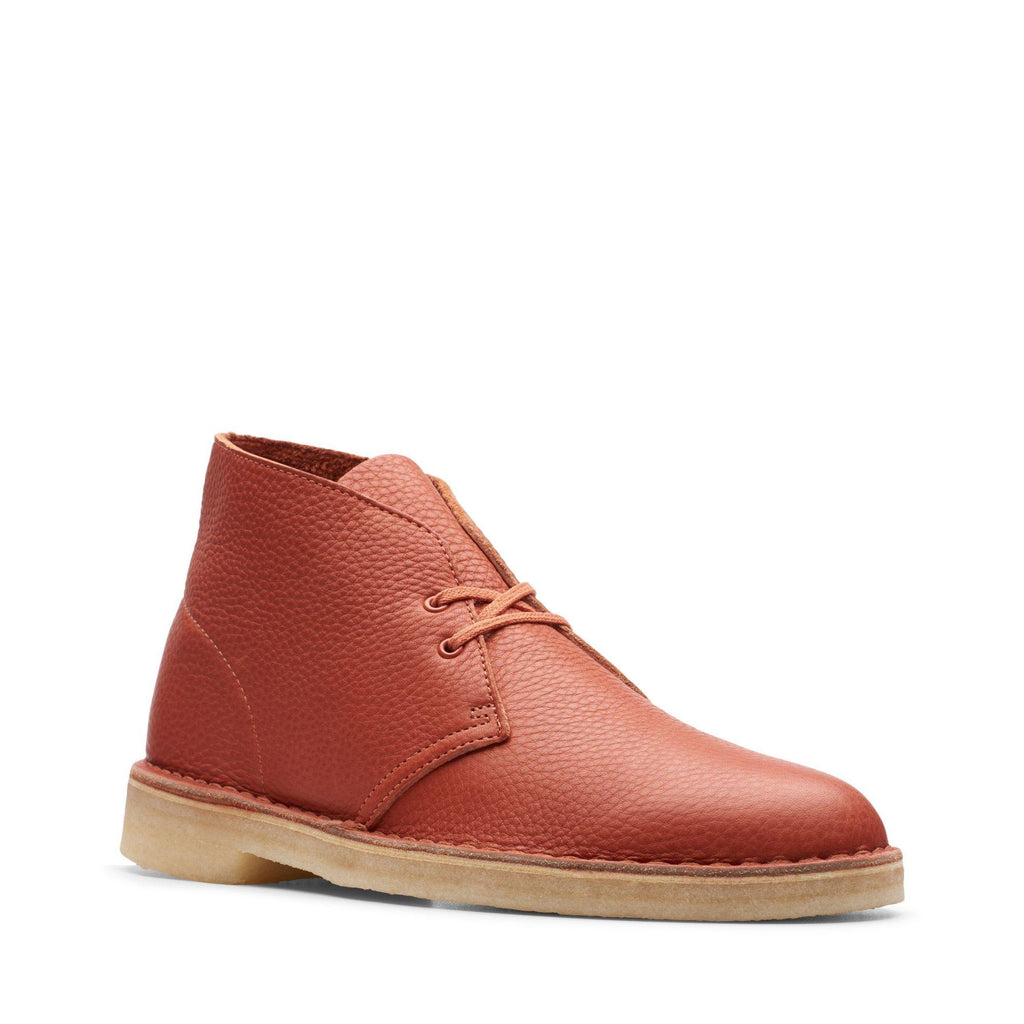 Desert Boot Burnt Orange Leather