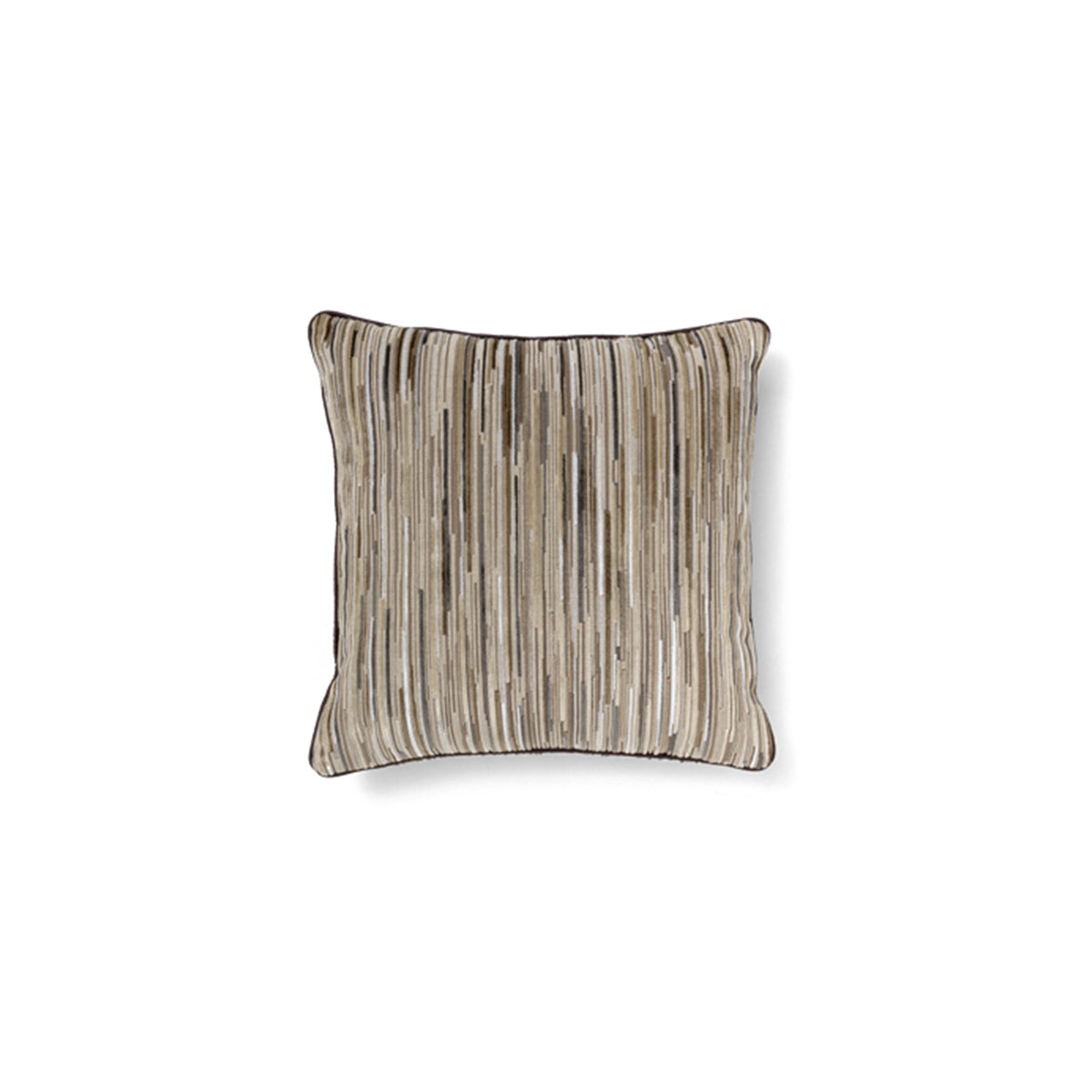 Tapestry Brown Pillow by Brabbu